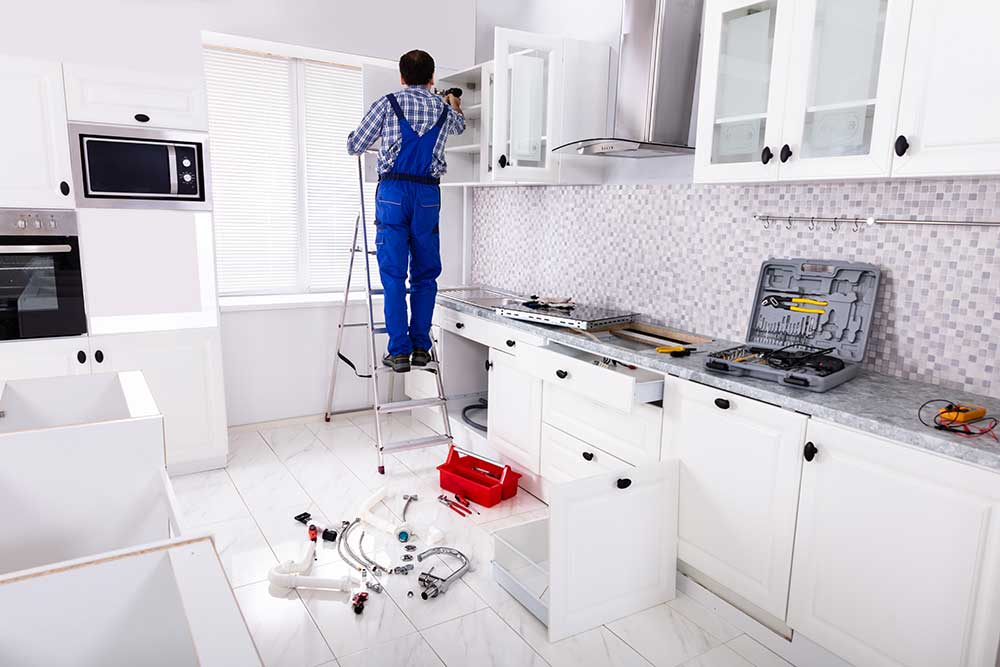 Remodelers countertops and cabinets