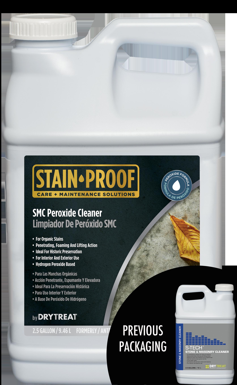 SMC peroxide cleaner